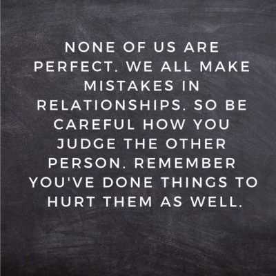 Quotes About Mistakes & Relationship