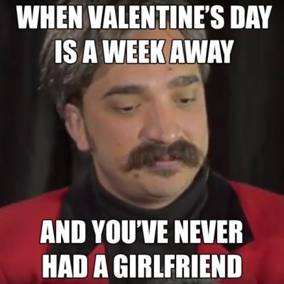 Sad Valentine Day's Meme