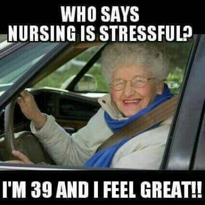 Stressful Nursing School Meme