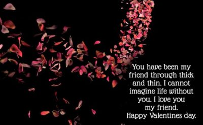 Valentine Day's Quotes For Friends With Images