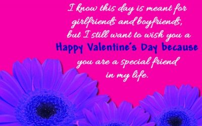 Valentine Day's Quotes For Special Friends