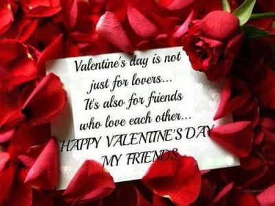 Valentine's Day Wishes To Friends