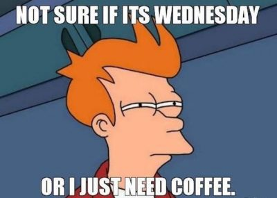 Wednesday Coffee Meme