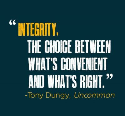 Business Quotes About Integrity