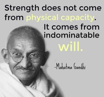 Famous Quotes On Willpower