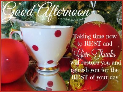 Good Afternoon Christmas Quotes