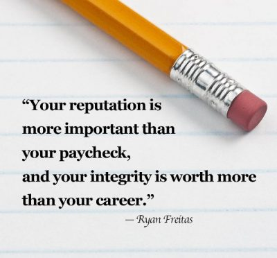 Inspirational Integrity Quotes For Work