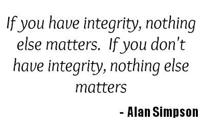 Integrity In Business