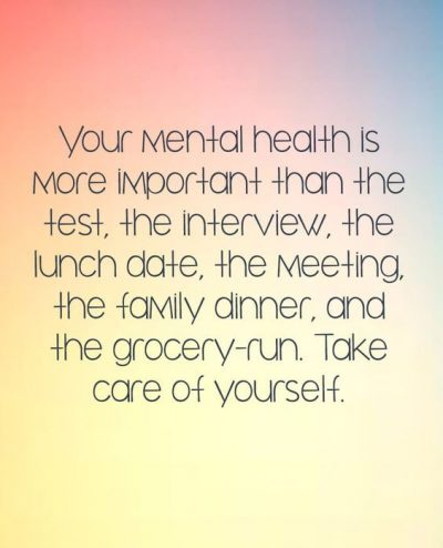 Mental health Quotes For Success