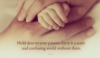 Parent's Love & Care Quotes