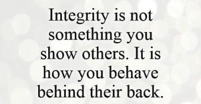 Picture Quotes On Integrity For Work