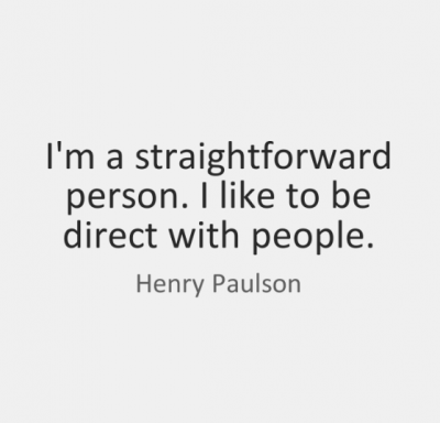 Quotes For Straightforward People