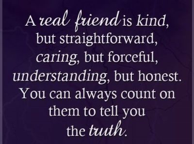 Straightforward Quotes About Friends