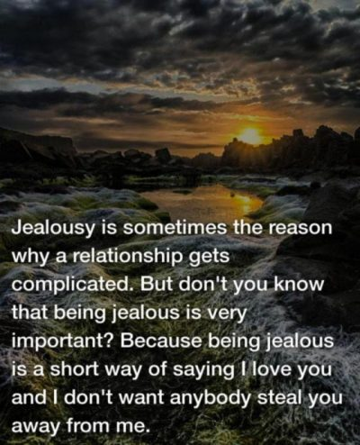 Being Jealous In Relationship