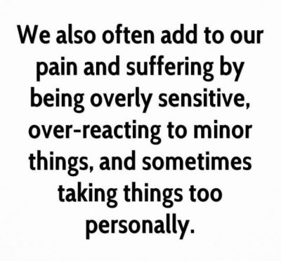 Being Sensitive Pictures
