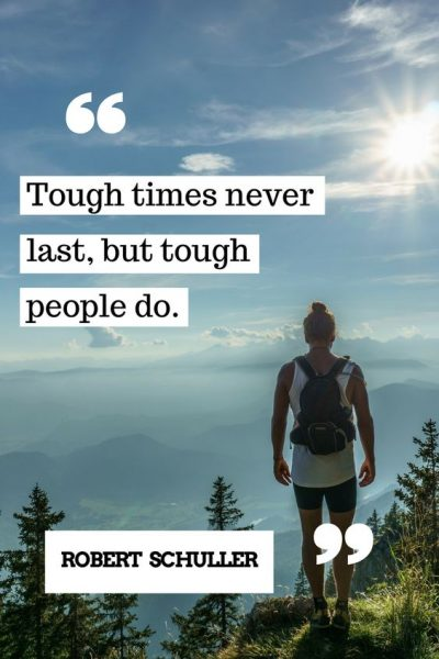 Being Tough Quotes