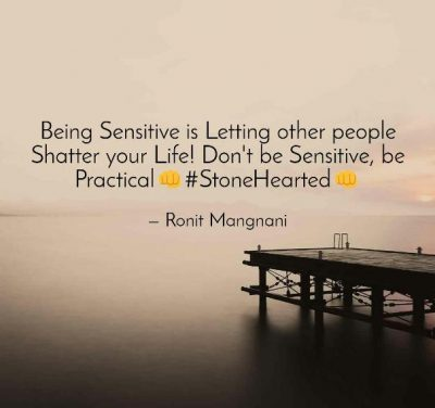 Being Sensitive Photos