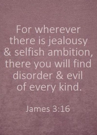 Bible Quotes About Jealousy And Envy