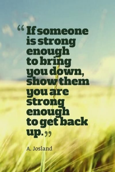Inspirational Quotes About Strength