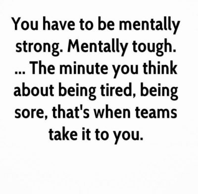 Quotes About Being Tough In Sports