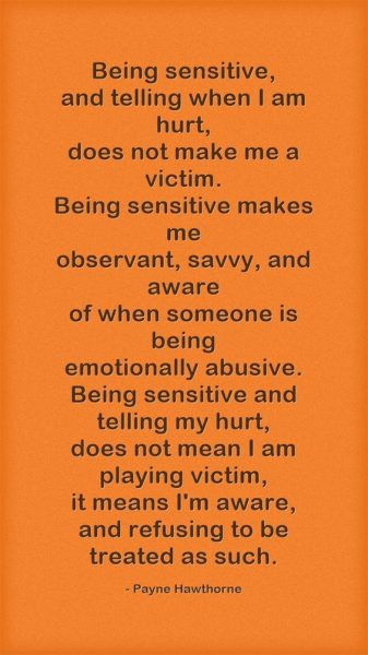 Quotes About Sensitivity