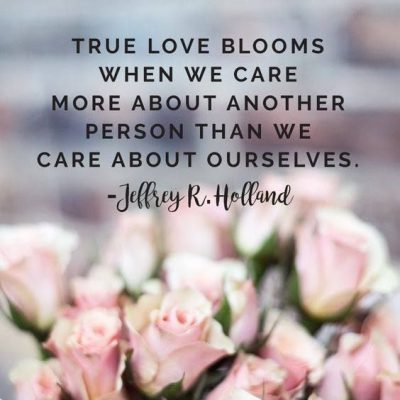 Sayings About Care Of A Lover