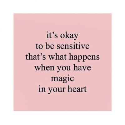 Sensitivity Quotes