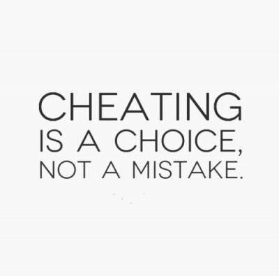 Cheating In A Relationship Is Not Mistake