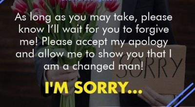 Cute Apology Pic