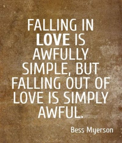 Falling Out Of Love Images