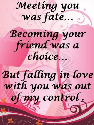 Fate And Destiny Love Quotes