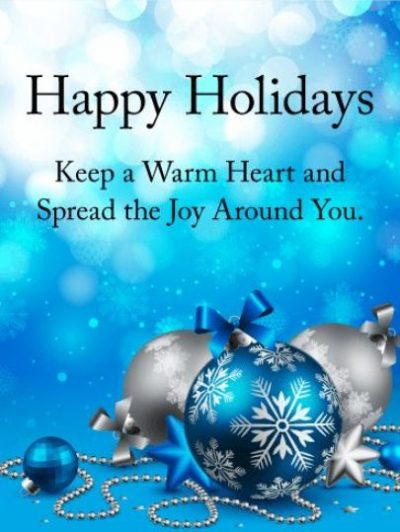 Happy Holiday Wishes Images