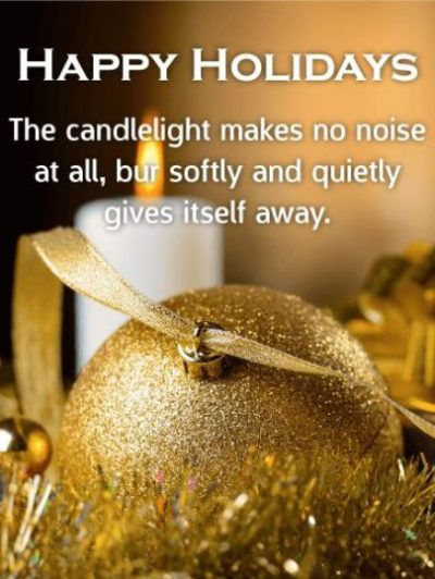 Holiday Wishes For Friends