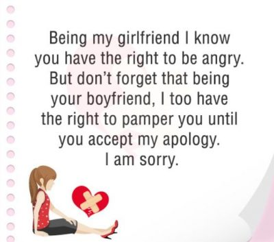 I Am Sorry Message For Girlfriend