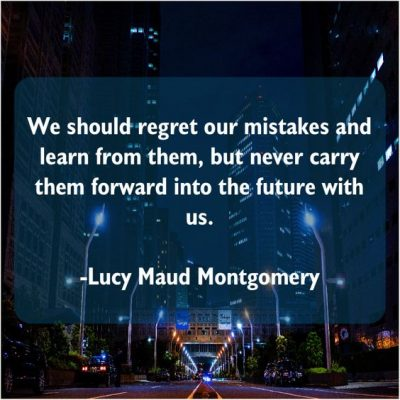 Mistakes Should Not Be Repeated In Future