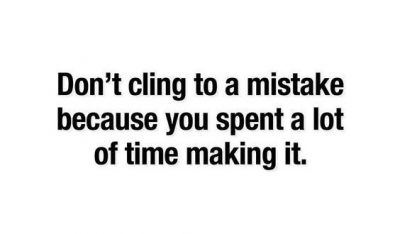 Motivational Quotes About Mistakes
