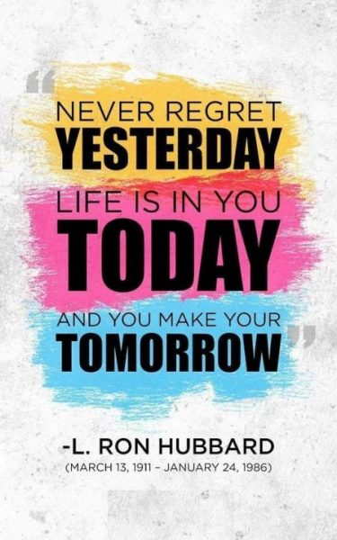 Motivational Quotes About Never Regret