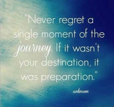 Never Regret A Single Moment Quotes