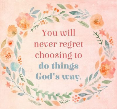Never Regret Quotations
