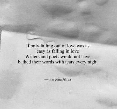 Sad Quotes Falling Out Of Love