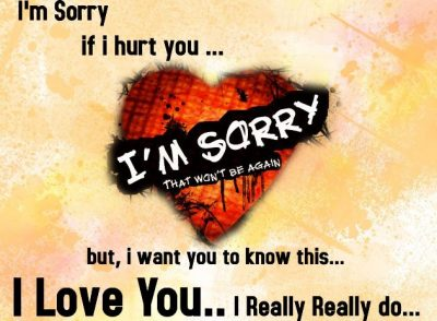 Saying Sorry Quotes For Her