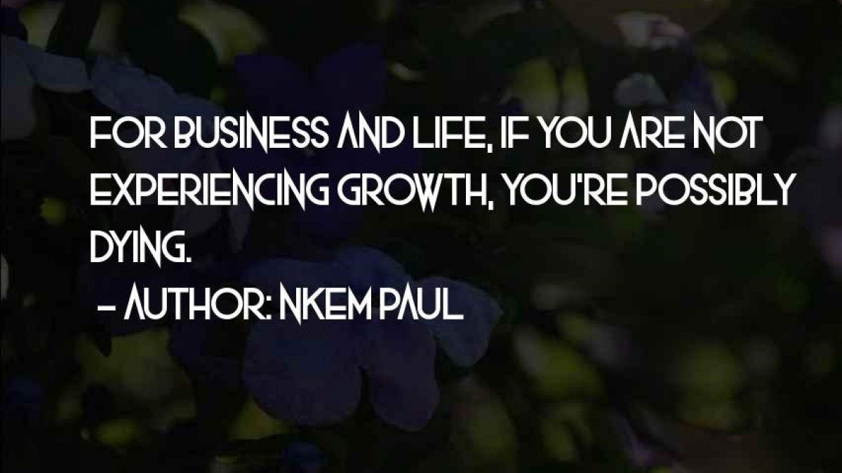 60 Inspirational Quotes About Business Growth The Random Vibez