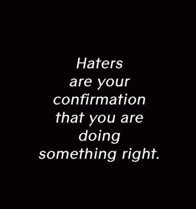 Cheer Quotes for Haters