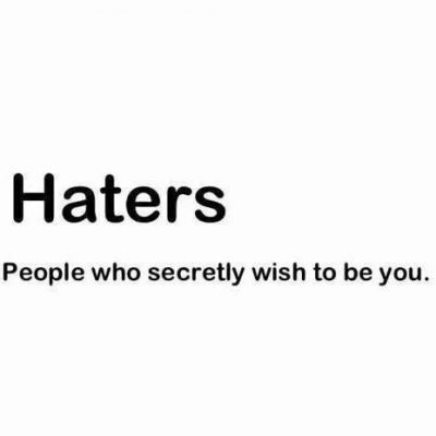 Quotes about Success Haters