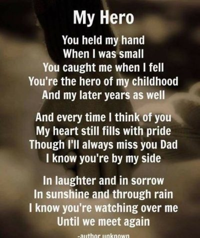 Cute In Memory Fathers Day Quotes