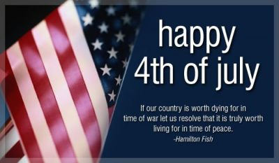 Happy 4th July Quotes And Sayings