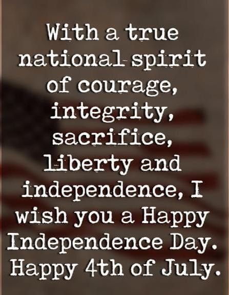 110 Patriotic Fourth of July Quotes - Best Sayings for July 4th