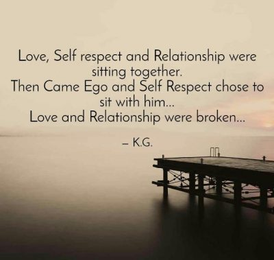 Love And Self Respect Quotes
