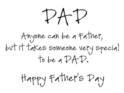 Short Father's Day Quotes