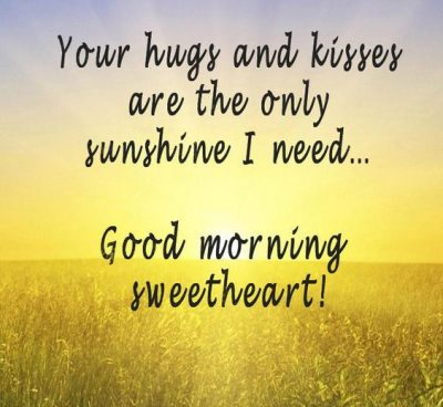 Good Morning Sunshine Quotes For Her